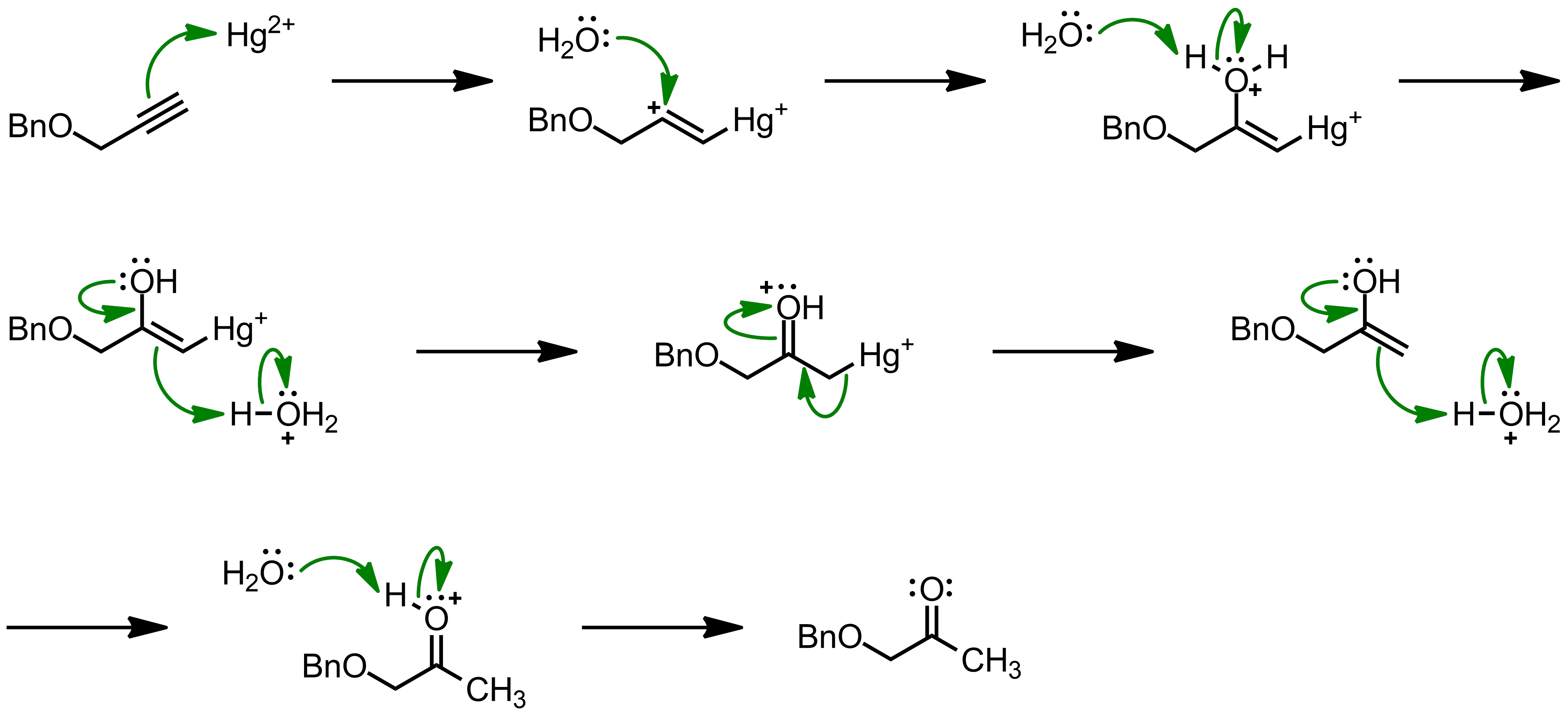Mechanism of the Kucherov Reaction