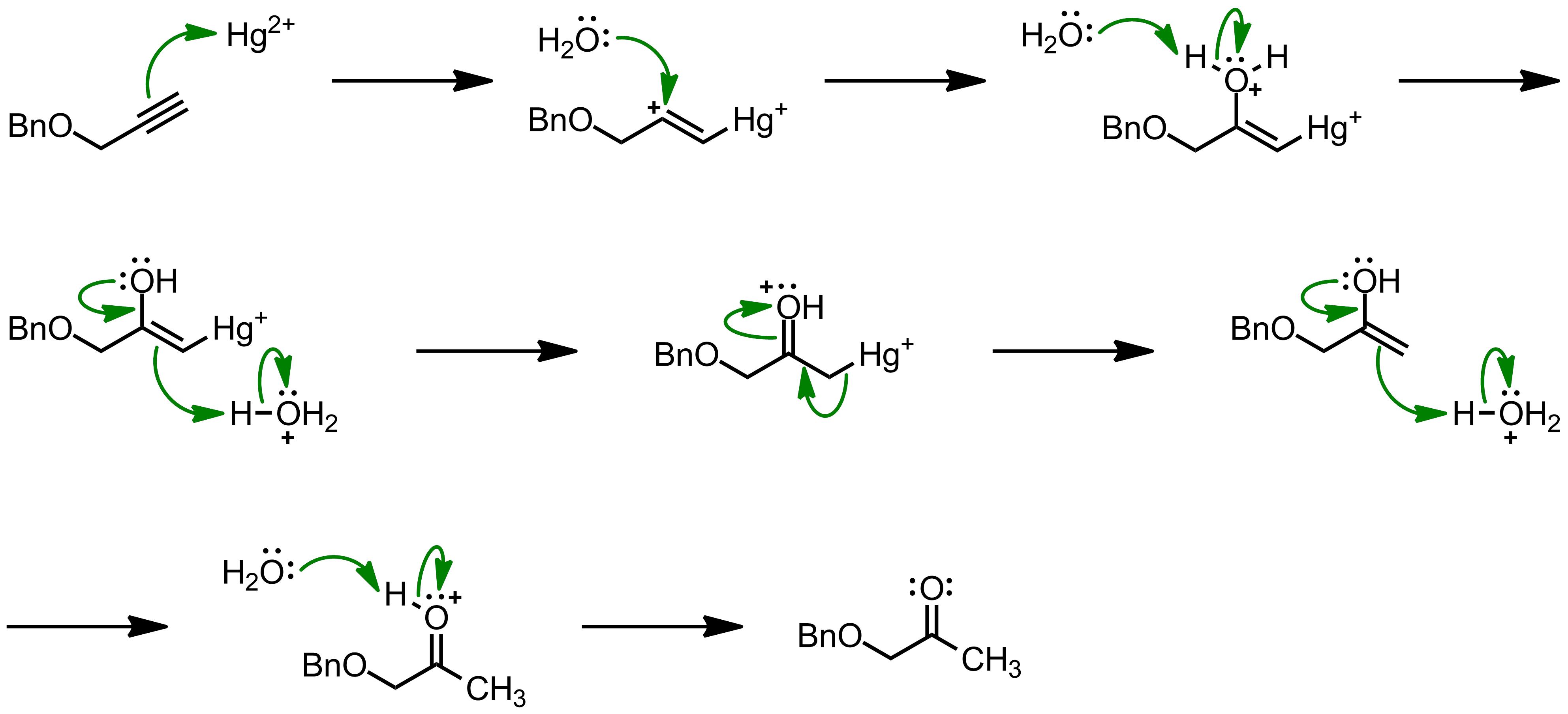 Mechanism of the Kucherov Reaction