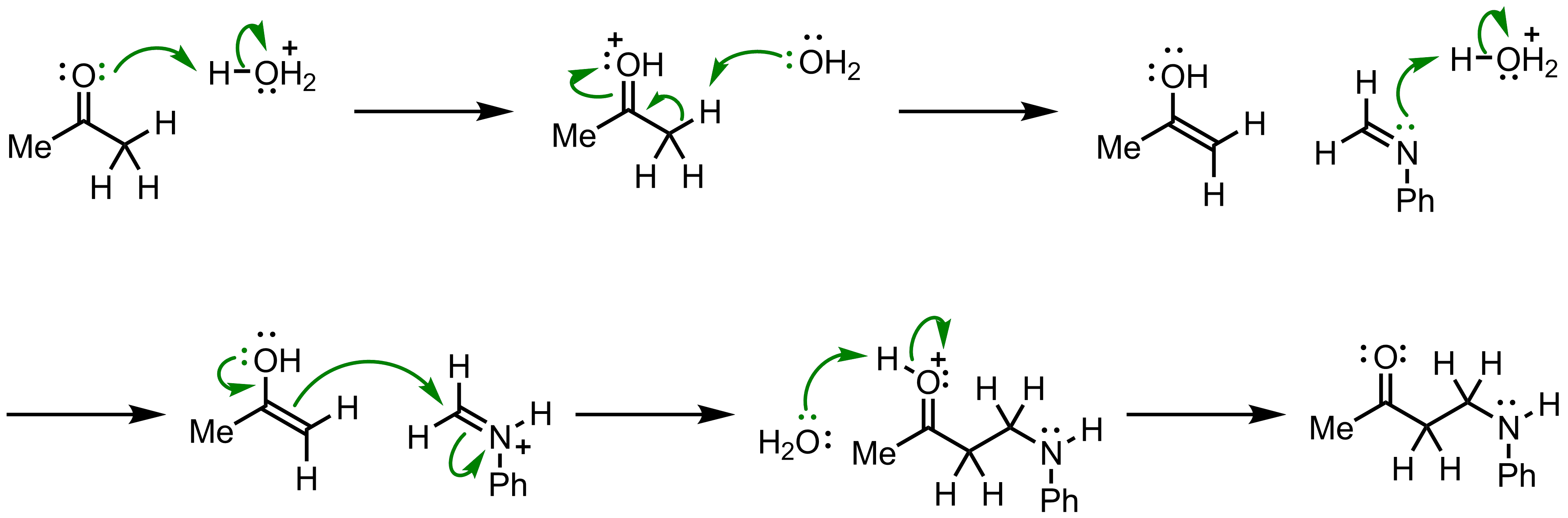 Mechanism of the Mannich Reaction