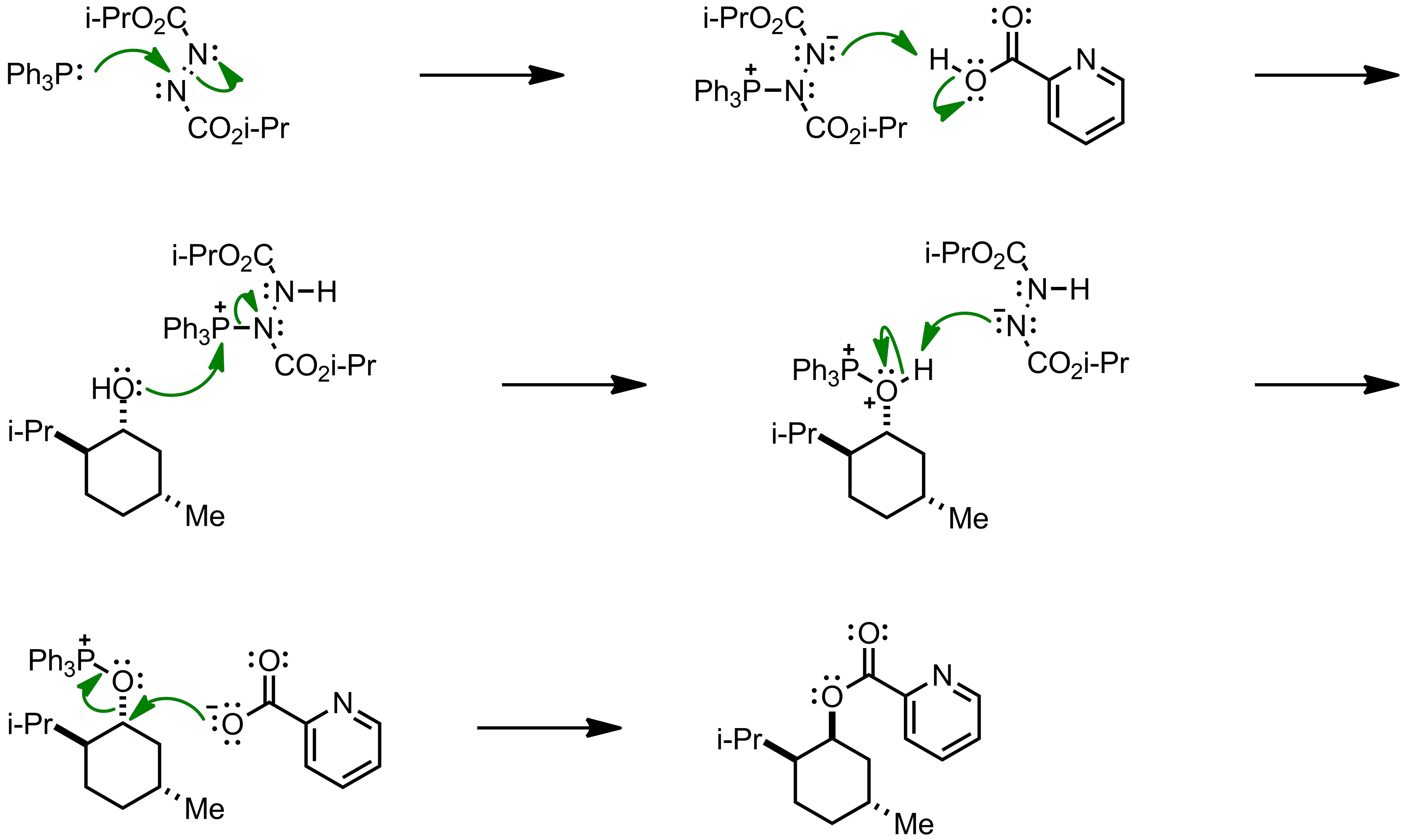 Mechanism of the Mitsunobu Reaction