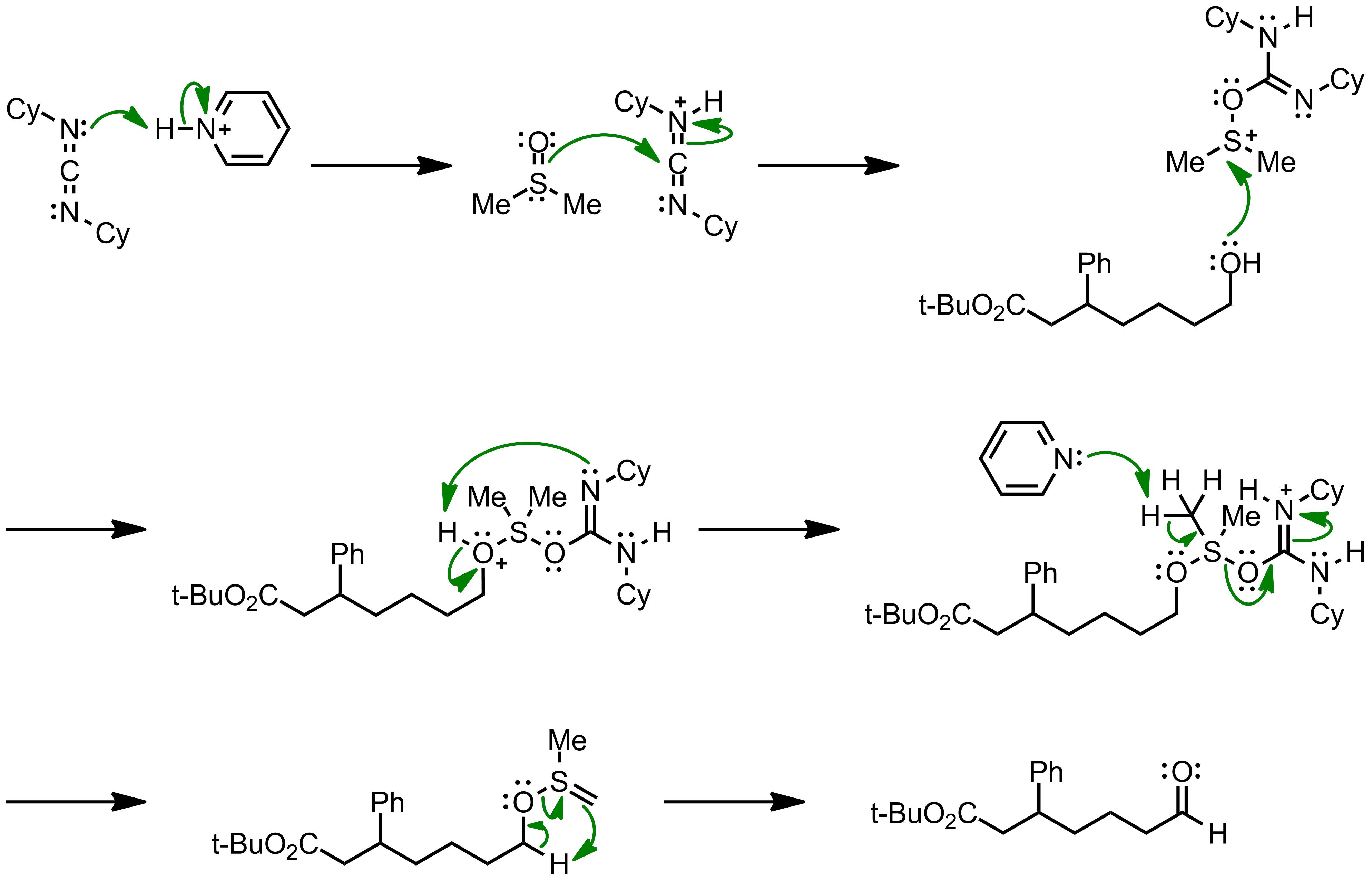 Mechanism of the Pfitzner-Moffatt oxidation