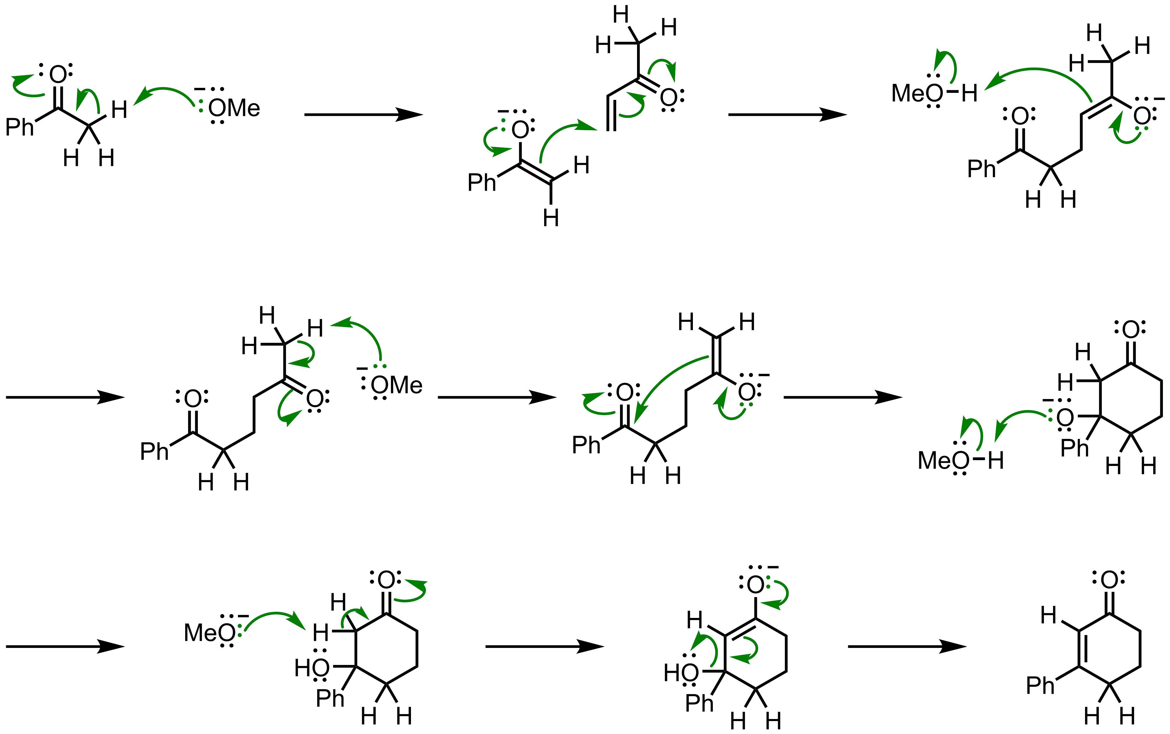 Mechanism of the Robinson Annulation