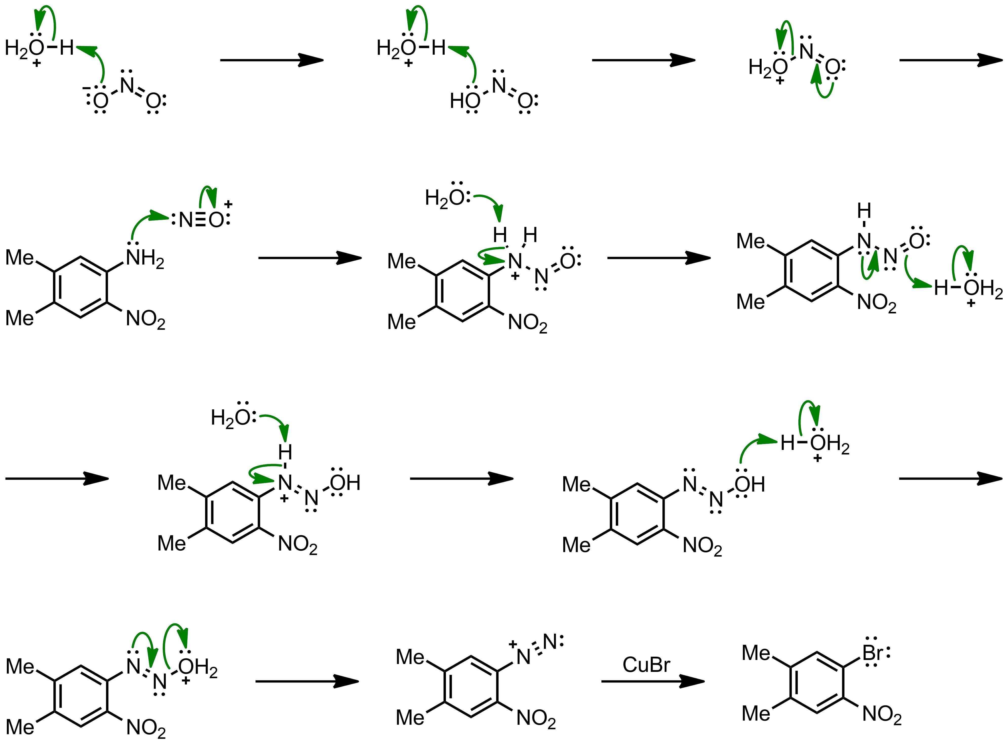 Mechanism of the Sandmeyer Reaction