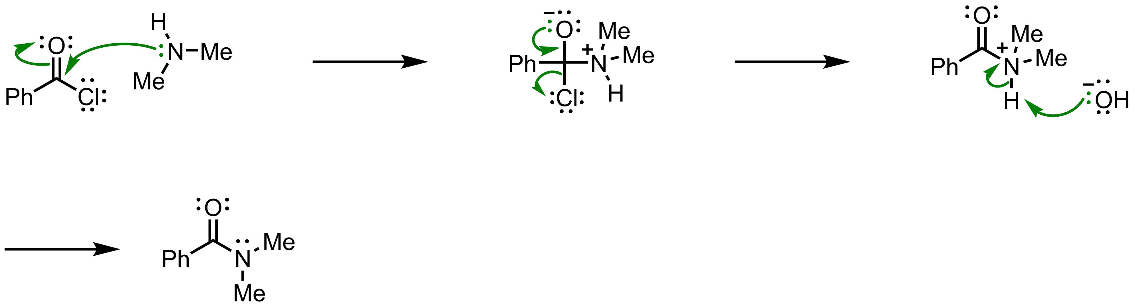 Mechanism of the Schotten-Baumann Reaction