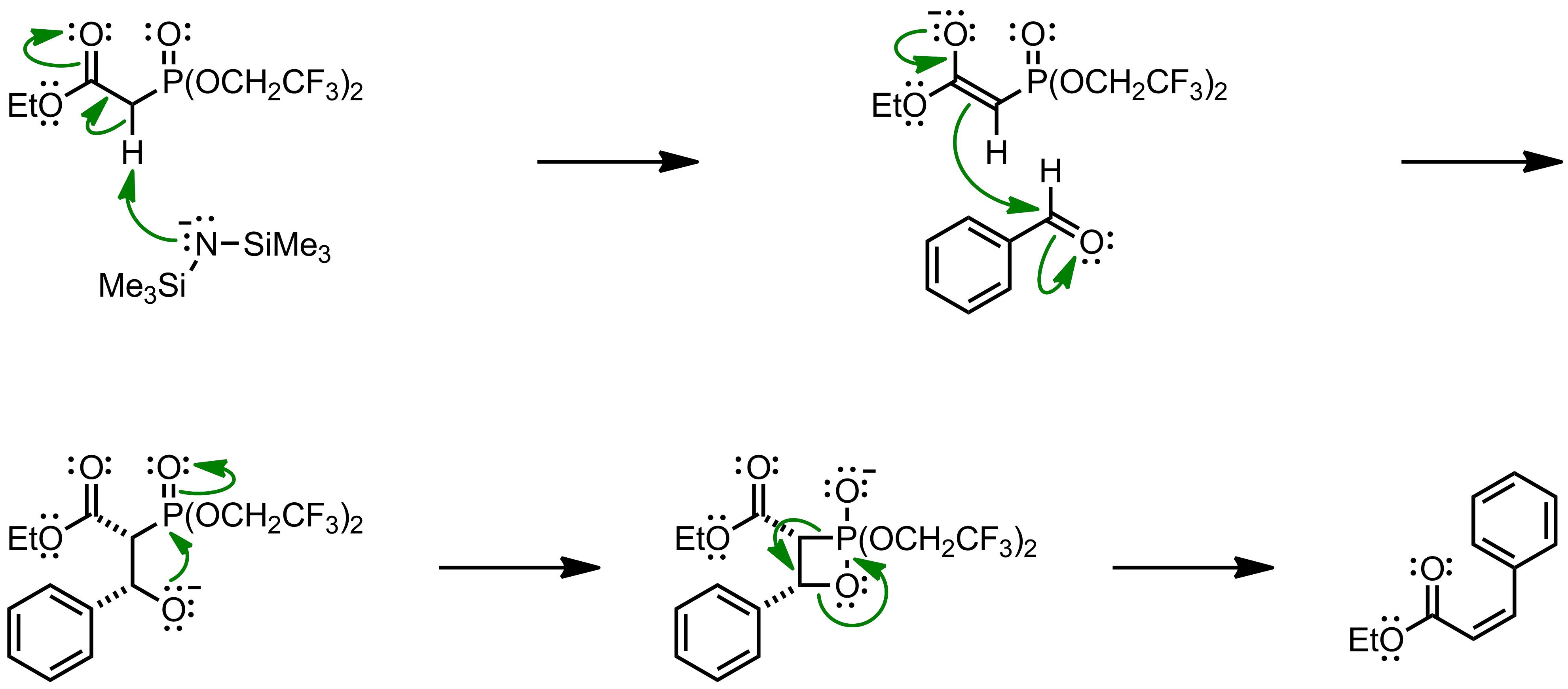 Mechanism of the Still-Gennari Reaction