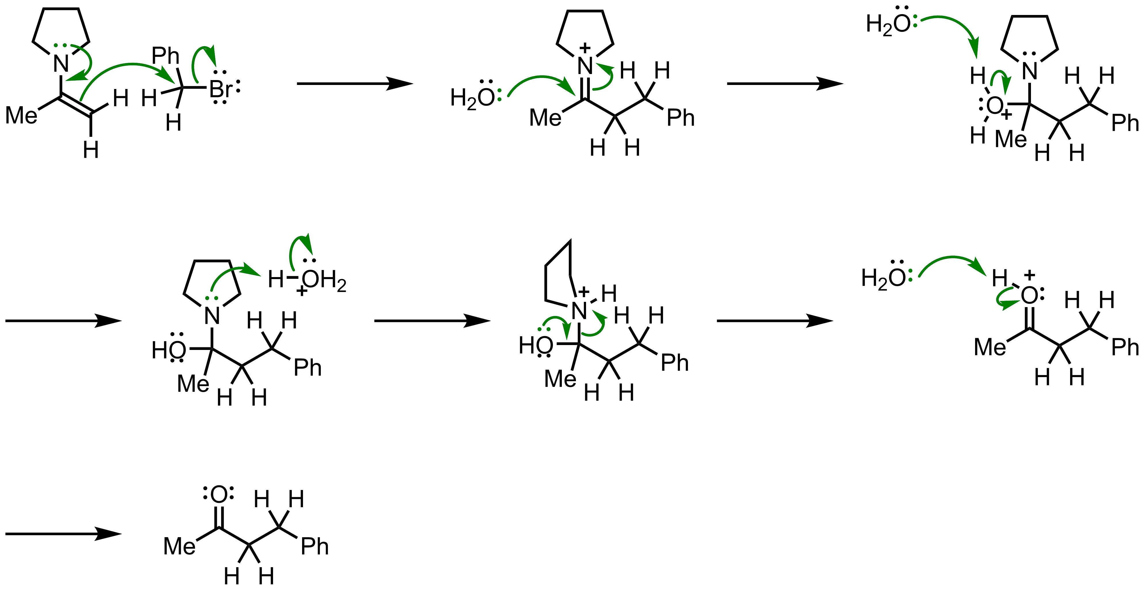 Mechanism of the Stork Enamine Synthesis
