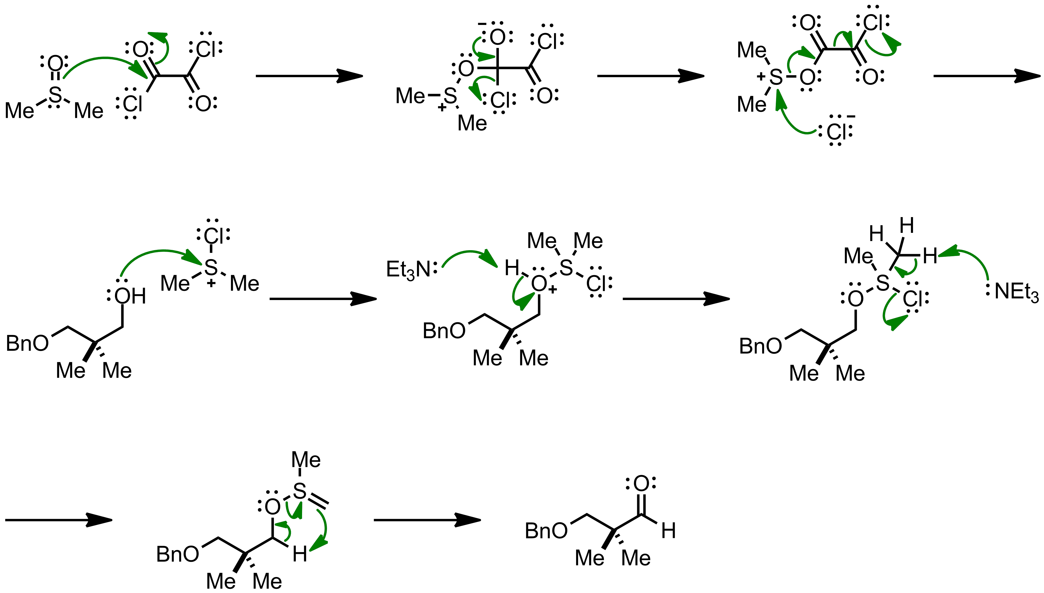 Mechanism of the Swern Oxidation
