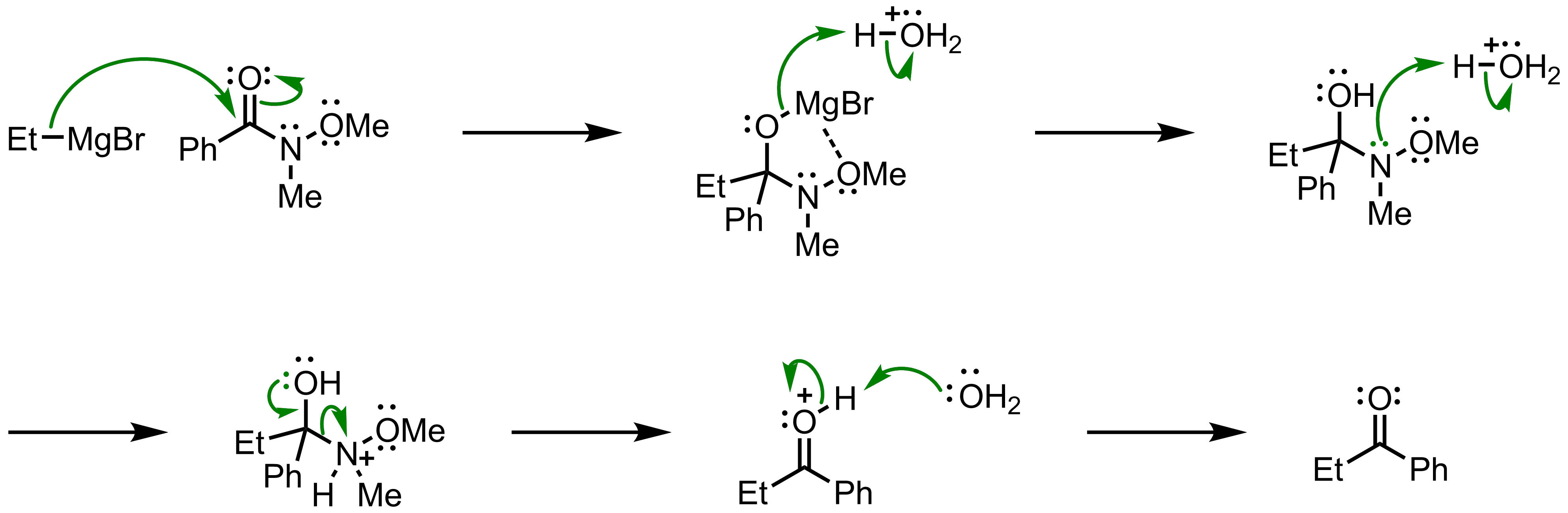 Mechanism of the Weinreb Ketone Synthesis