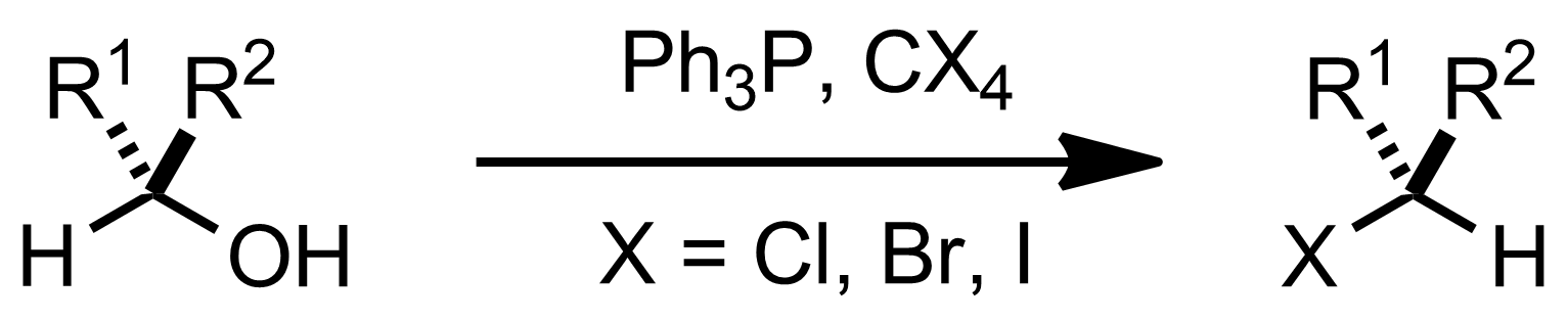 Schematic representation of the Appel Reaction.