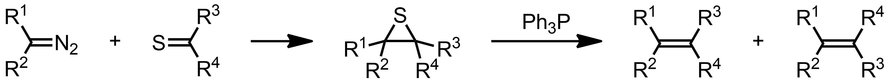 Schematic representation of the Barton-Kellogg Reaction.
