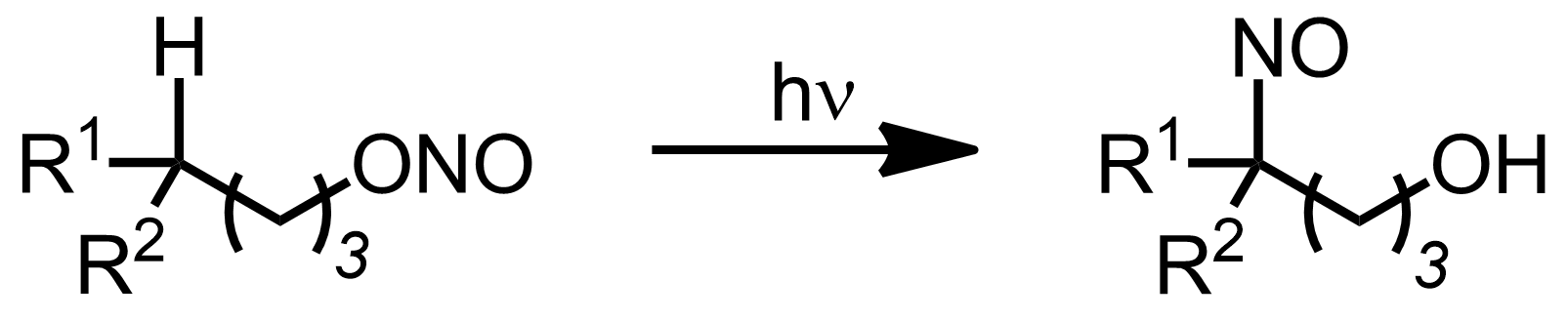 Schematic representation of the Barton Reaction.