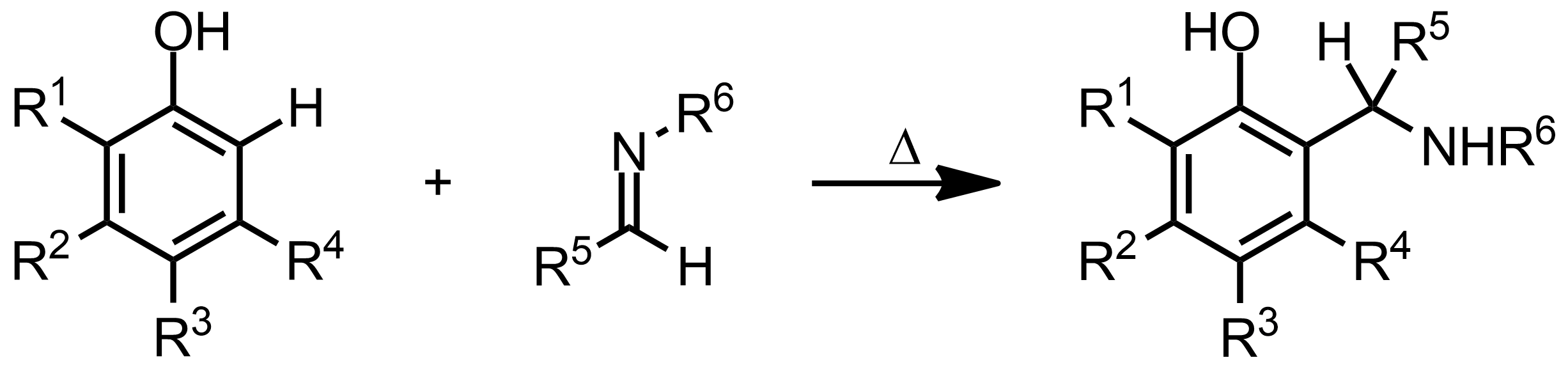 Schematic representation of the Betti Reaction.