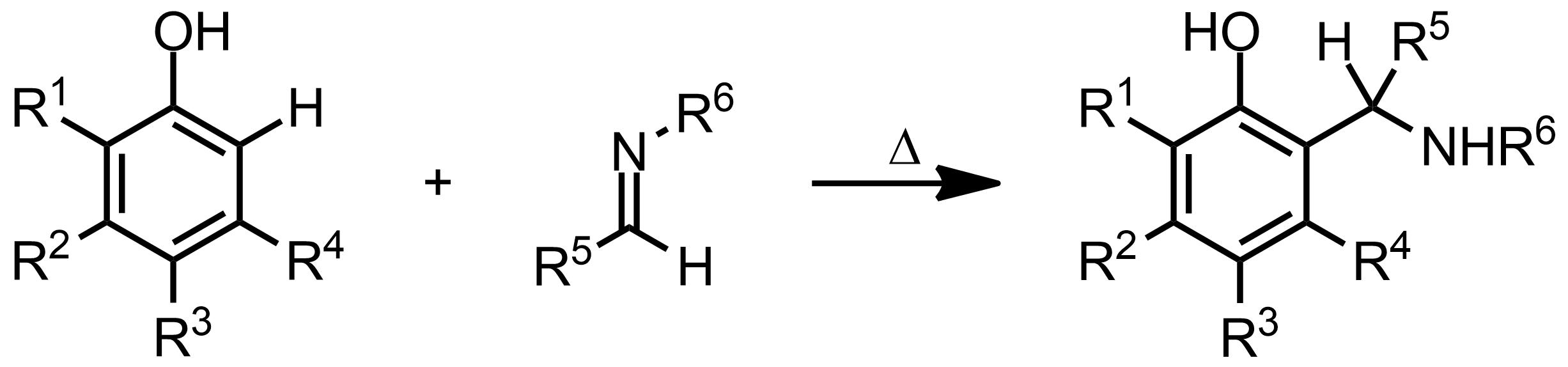 Schematic representation of the Betti Reaction.