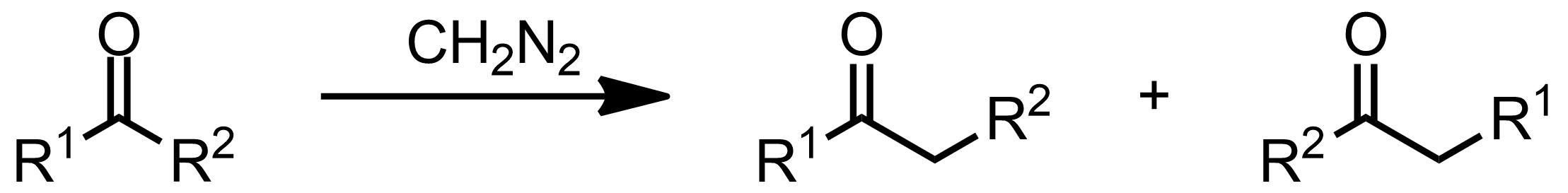 Schematic representation of the Büchner-Curtius-Schlotterbeck Reaction.