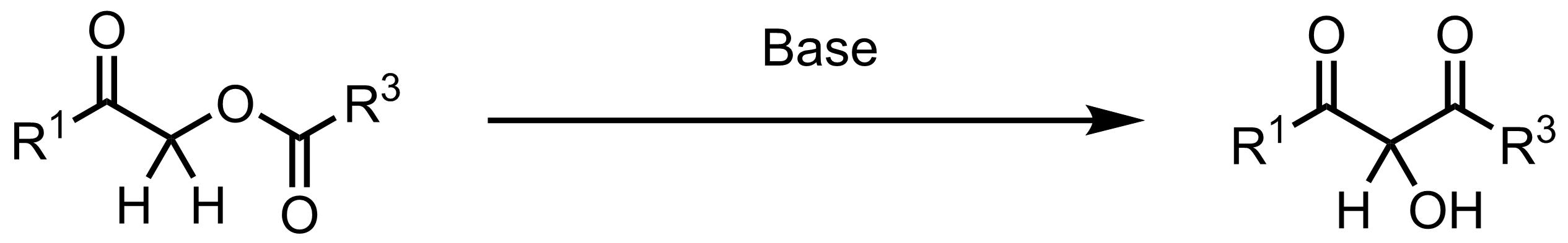 Schematic representation of the Chan Rearrangement.