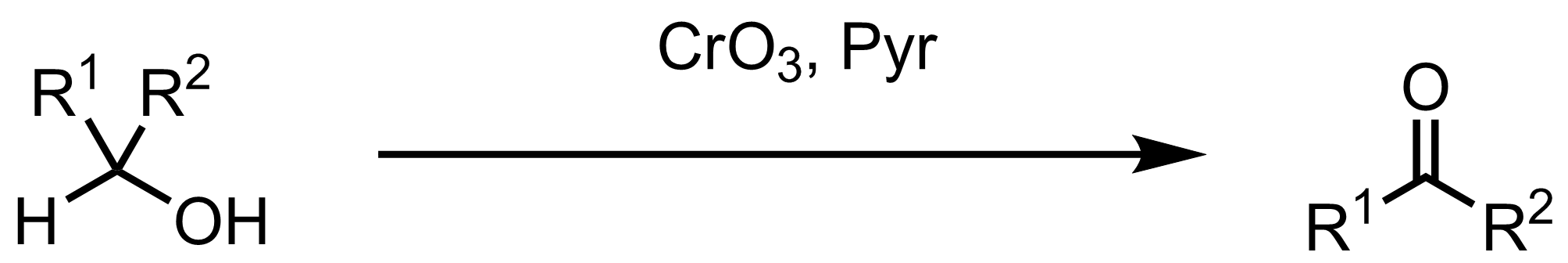 Schematic representation of the Collins Oxidation.