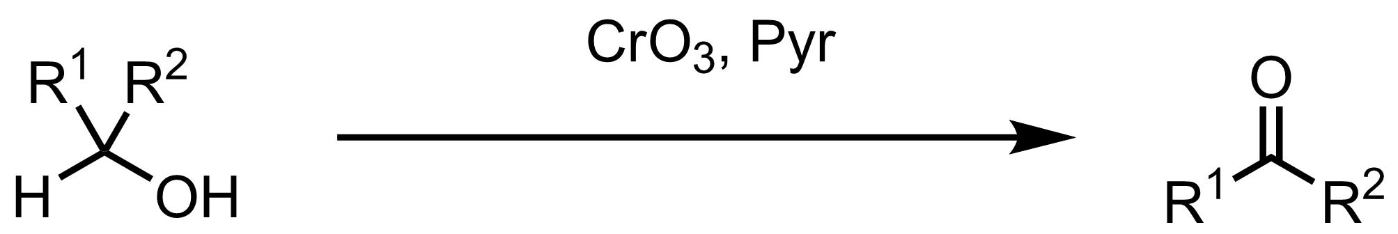 Schematic representation of the Collins Oxidation.