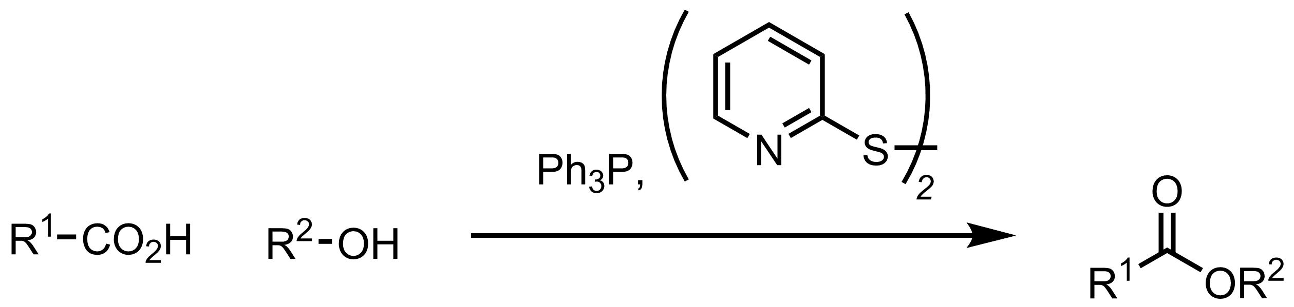 Schematic representation of the Corey-Nicolaou Macrolactonization.