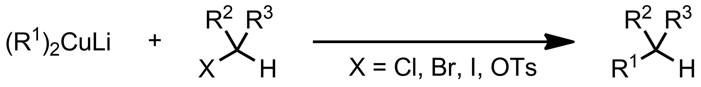 Schematic representation of the Corey-Posner, Whitesides-House Reaction.