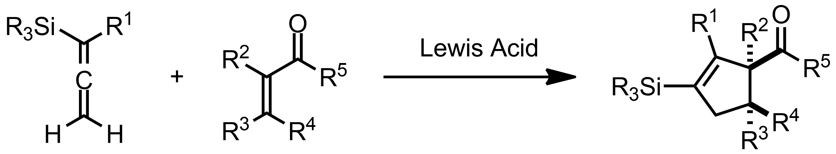 Schematic representation of the Danheiser Annulation.