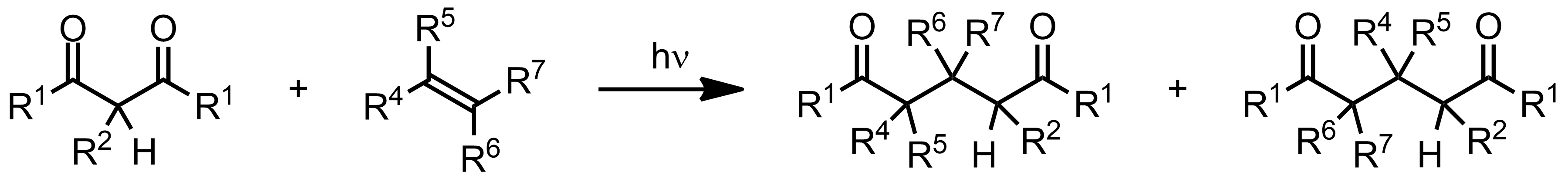 Schematic representation of the De Mayo Reaction.