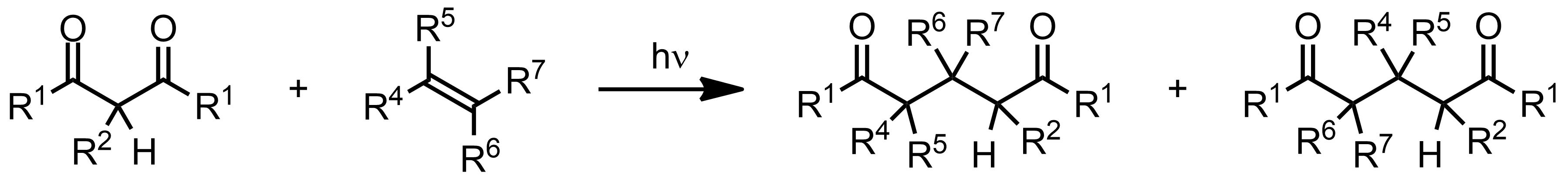 Schematic representation of the De Mayo Reaction.