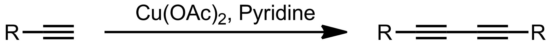 Schematic representation of the Eglinton Reaction.