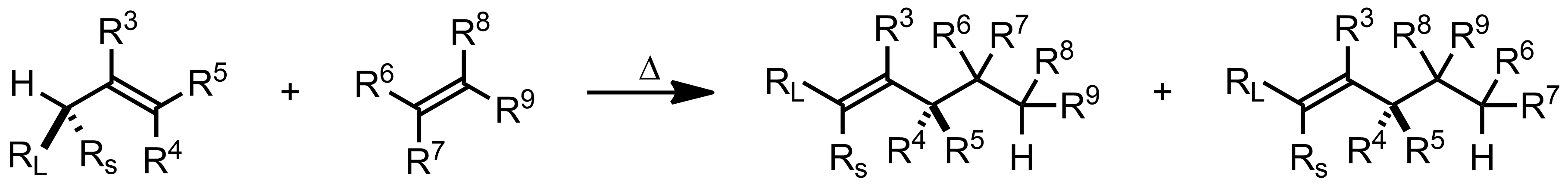 Schematic representation of the Ene Reaction.
