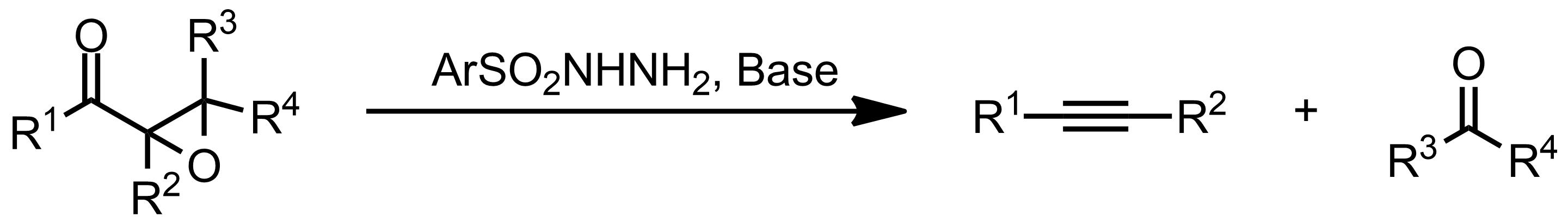 Schematic representation of the Eschenmoser Fragmentation.
