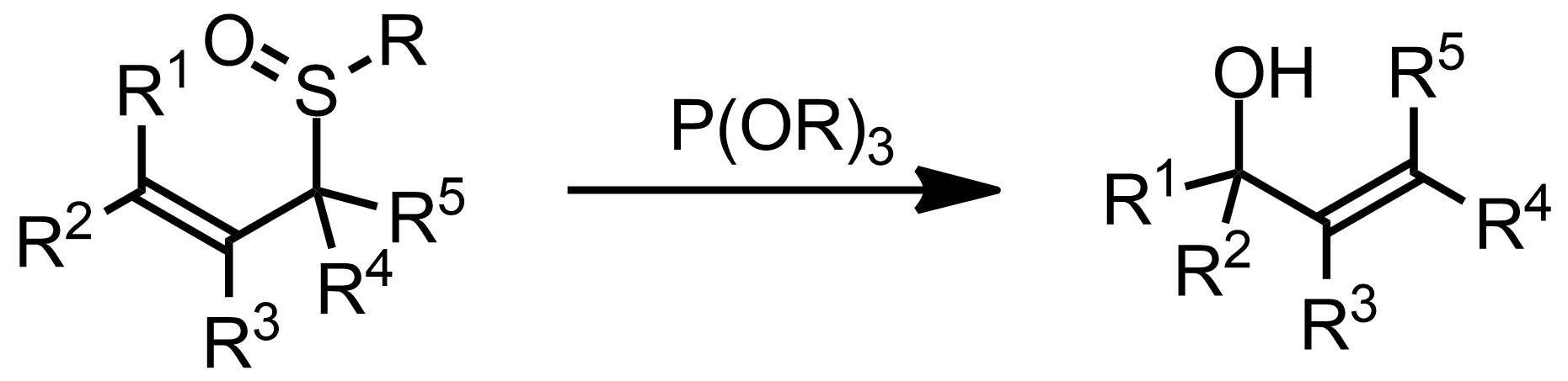 Schematic representation of the Evans-Mislow Rearrangement.