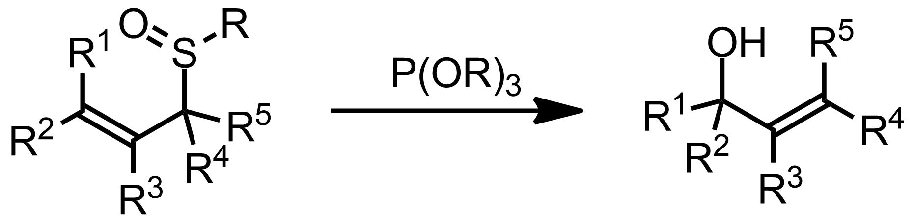 Schematic representation of the Evans-Mislow Rearrangement.