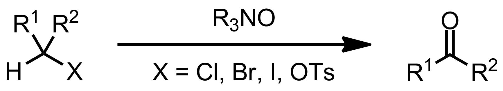 Schematic representation of the Ganem Oxidation.