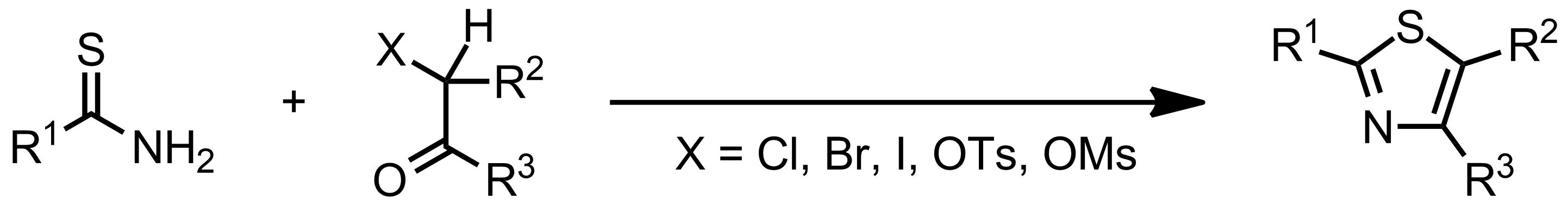 Schematic representation of the Hantzsch Thiazole Synthesis.