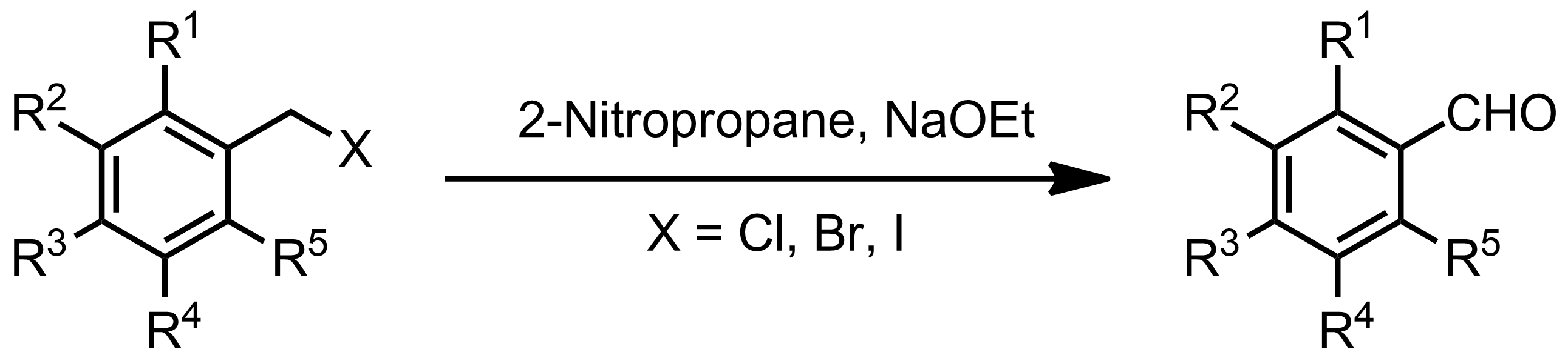 Schematic representation of the Hass-Bender Oxidation.
