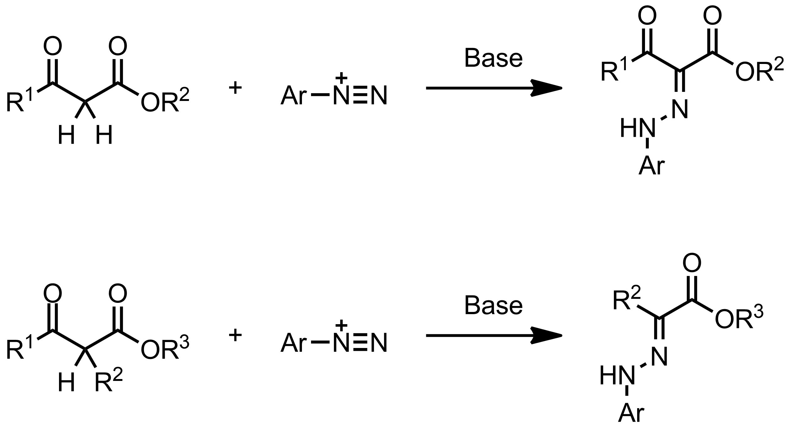 Schematic representation of the Japp-Klingemann Reaction.