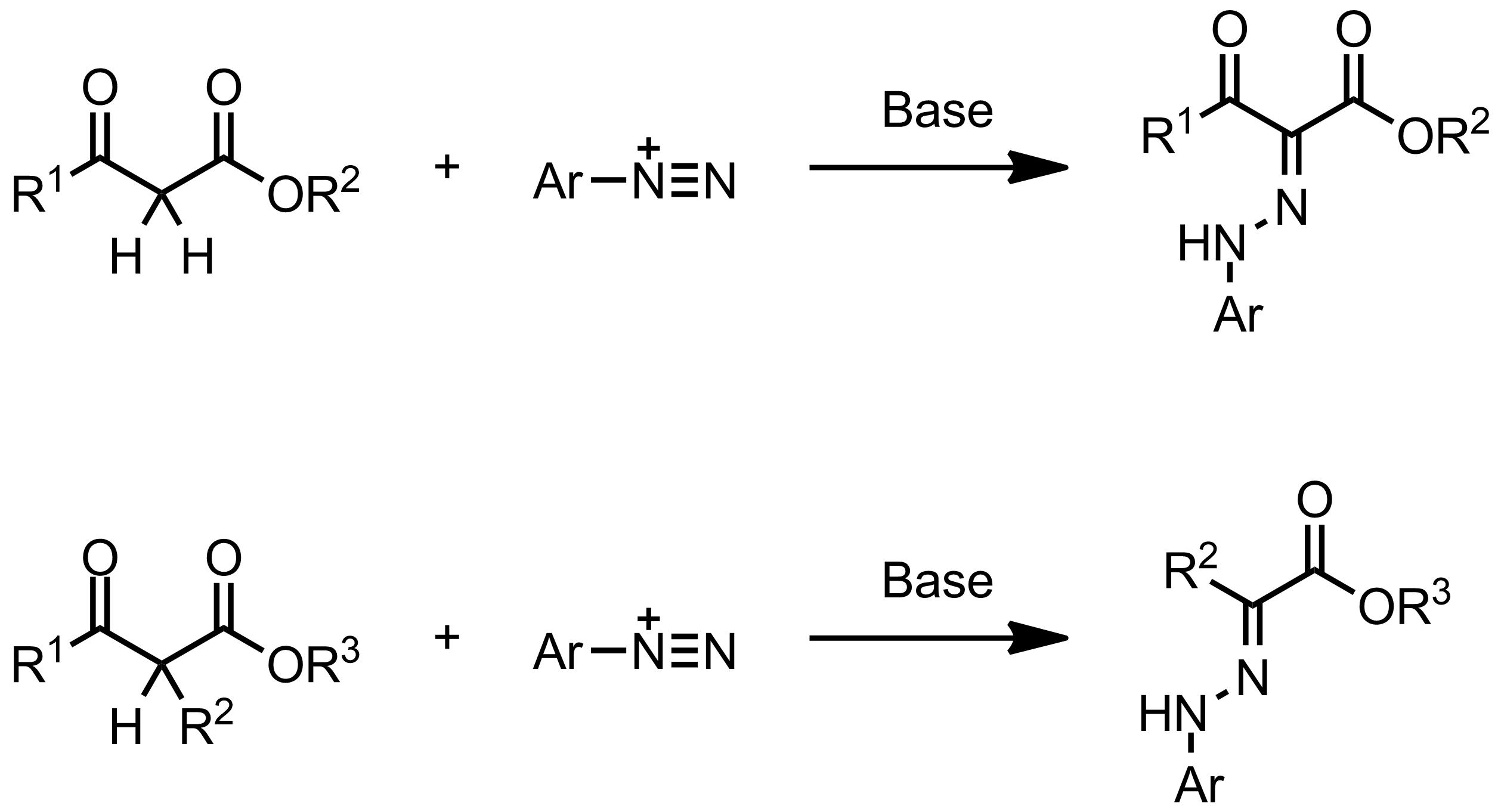 Schematic representation of the Japp-Klingemann Reaction.