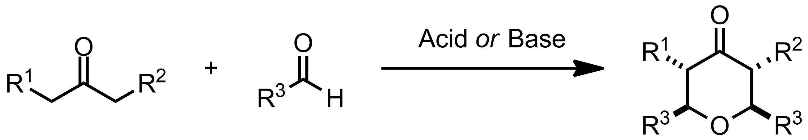 Schematic representation of the Maitland-Japp Reaction.