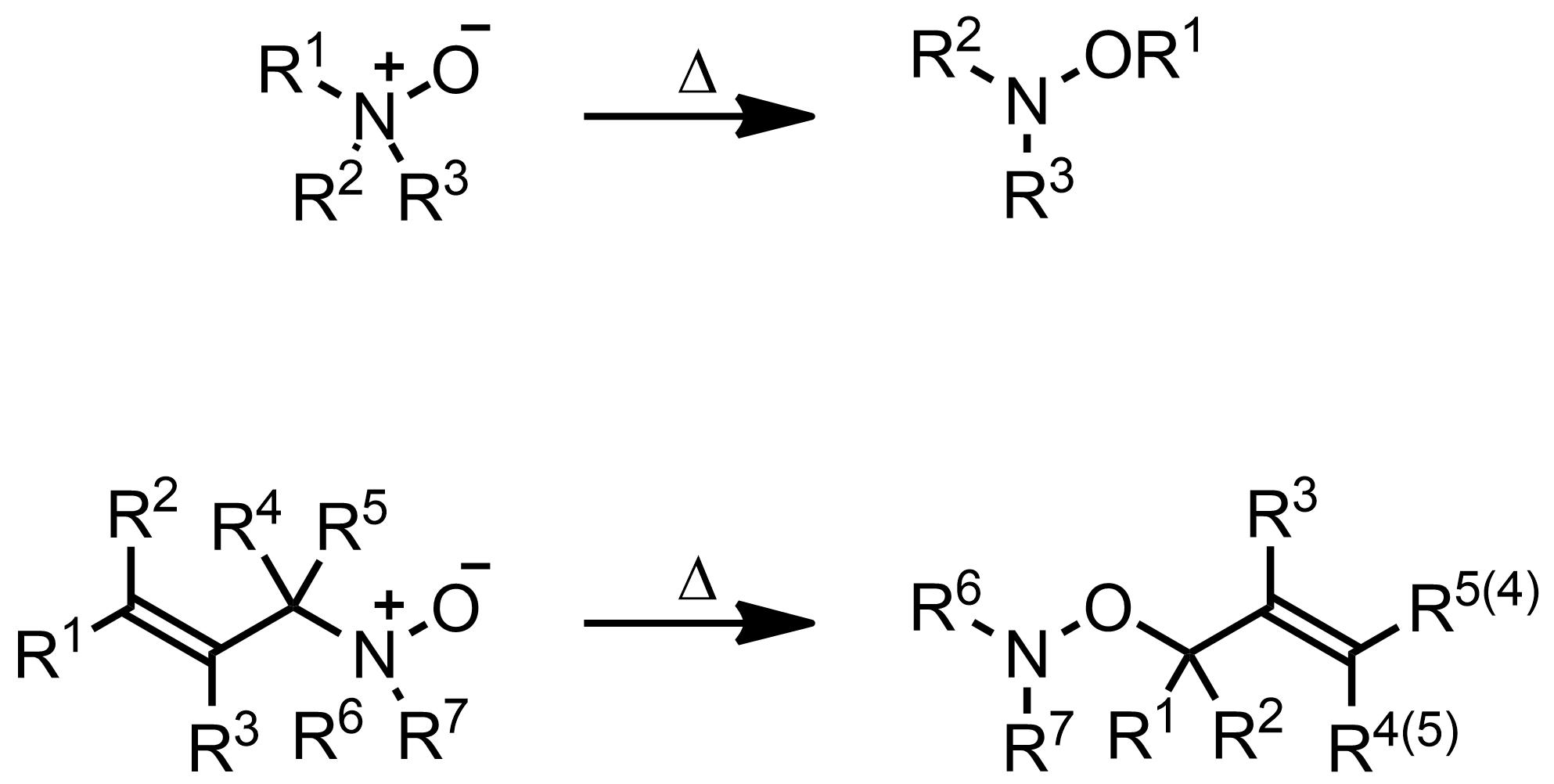 Schematic representation of the Meisenheimer Rearrangement.