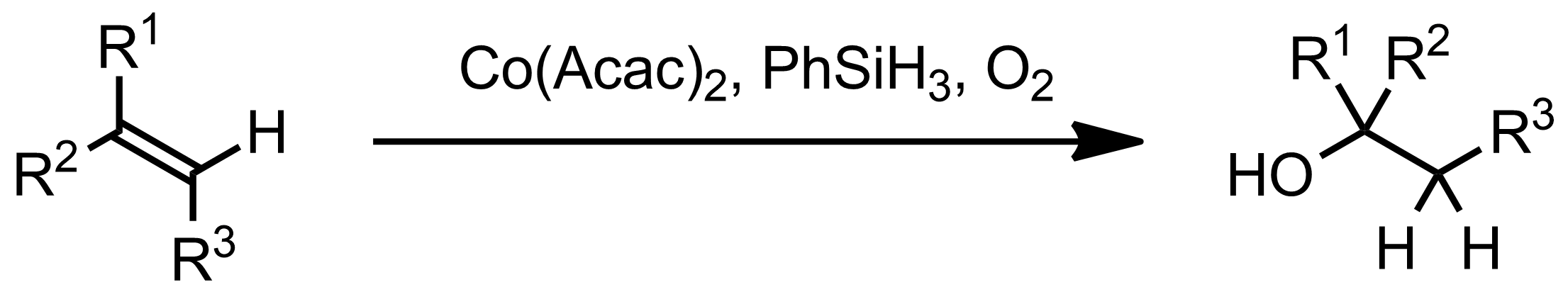 Schematic representation of the Mukaiyama Hydration.