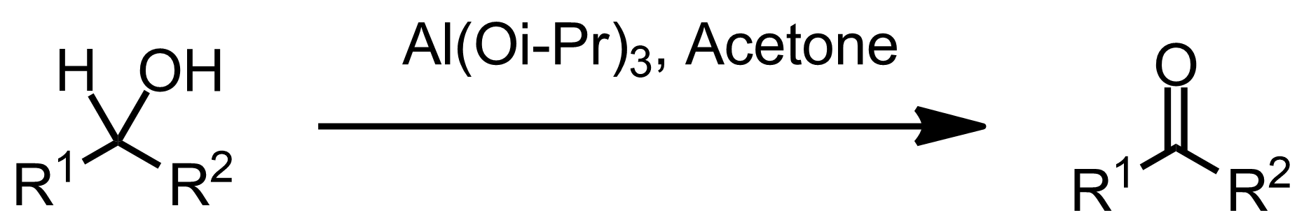 Schematic representation of the Oppenauer Oxidation.