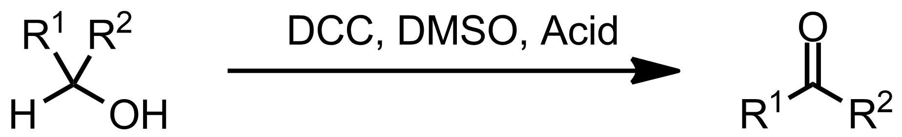 Schematic representation of the Pfitzner-Moffatt oxidation.