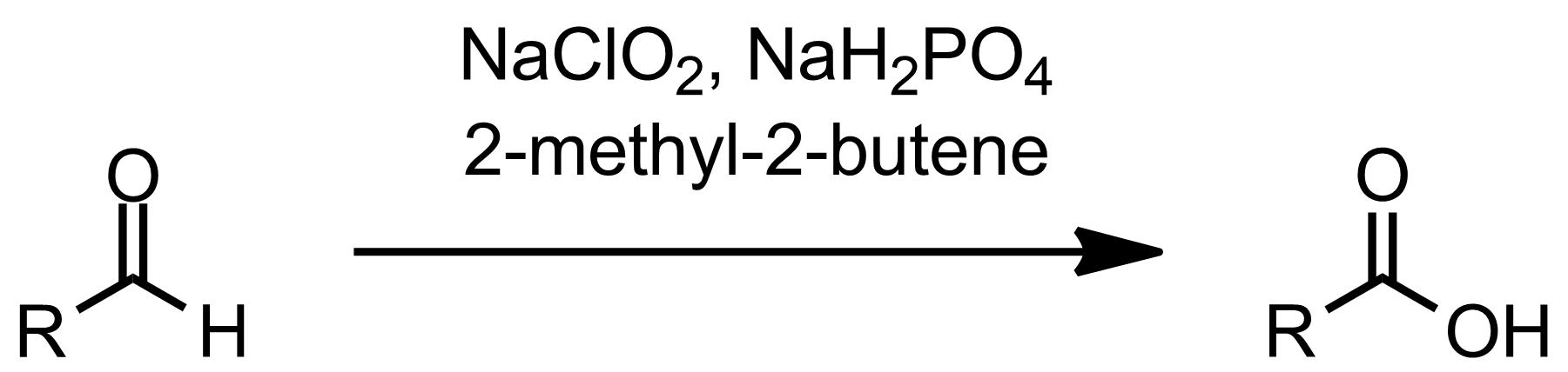 Schematic representation of the Pinnick-Lindgren Oxidation.