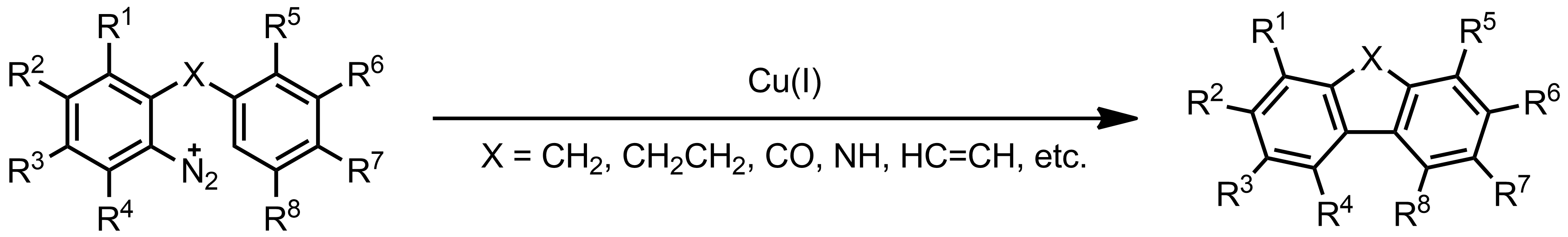 Schematic representation of the Pschorr Reaction.