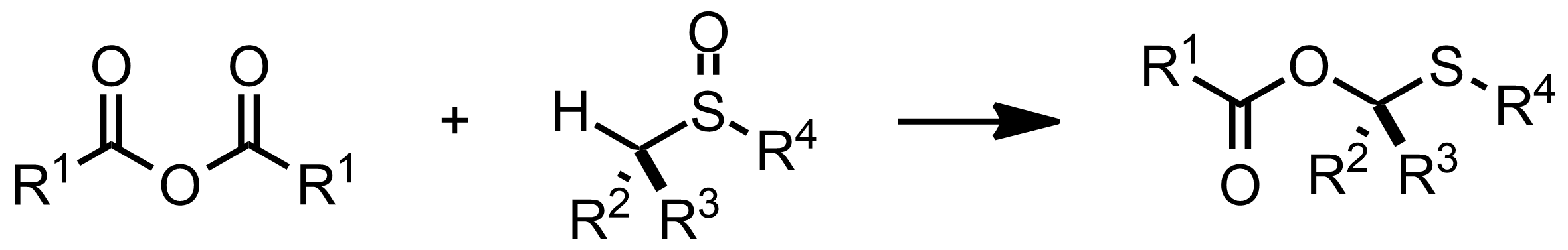 Schematic representation of the Pummerer Rearrangement.