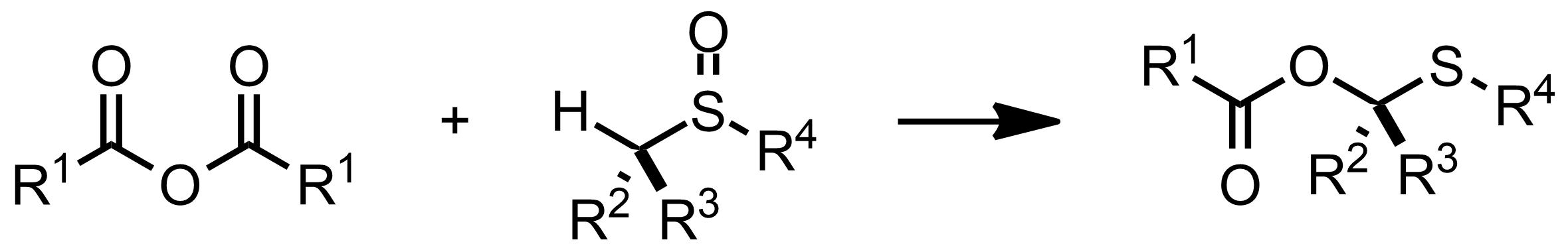 Schematic representation of the Pummerer Rearrangement.