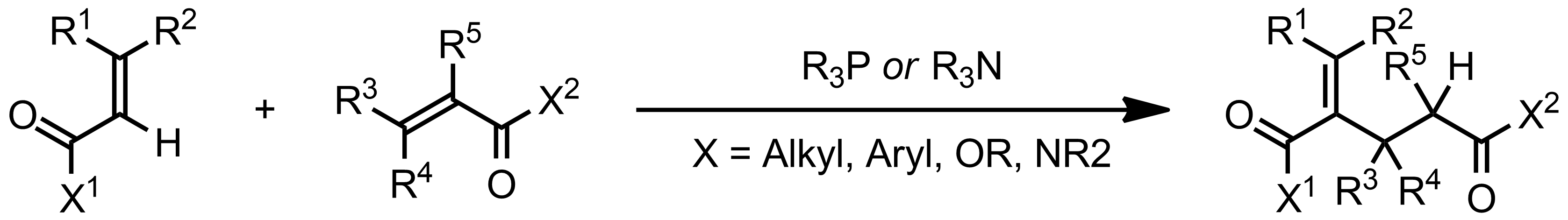 Schematic representation of the Rauhut-Currier Reaction.
