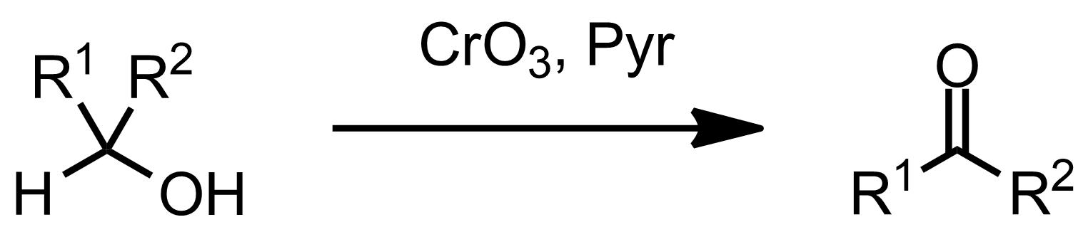 Schematic representation of the Sarett Oxidation.
