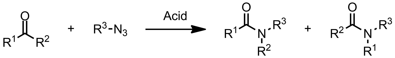 Schematic representation of the Schmidt Reaction.