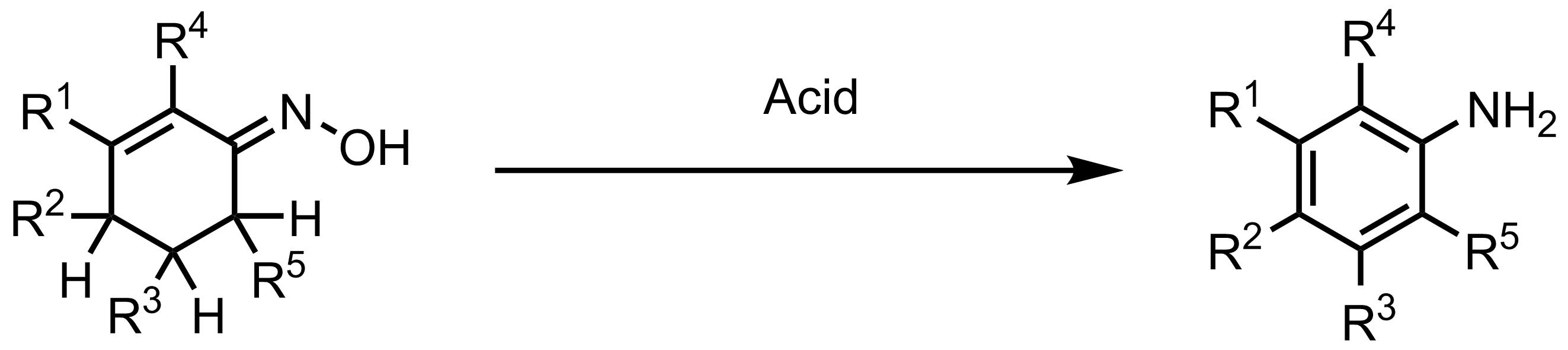 Schematic representation of the Semmler-Wolff Reaction.