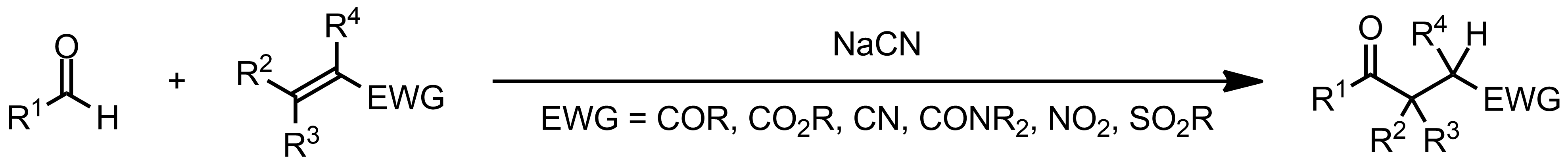 Schematic representation of the Stetter Reaction.